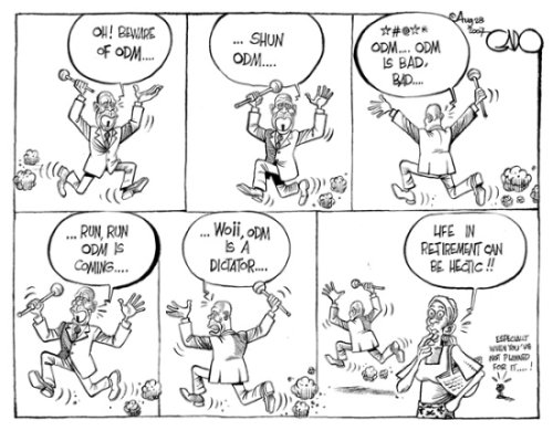 Gado on Moi's ODM comments